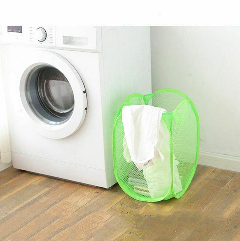 Pop Laundry Basket Hamper Washing Dirty Storage Bin