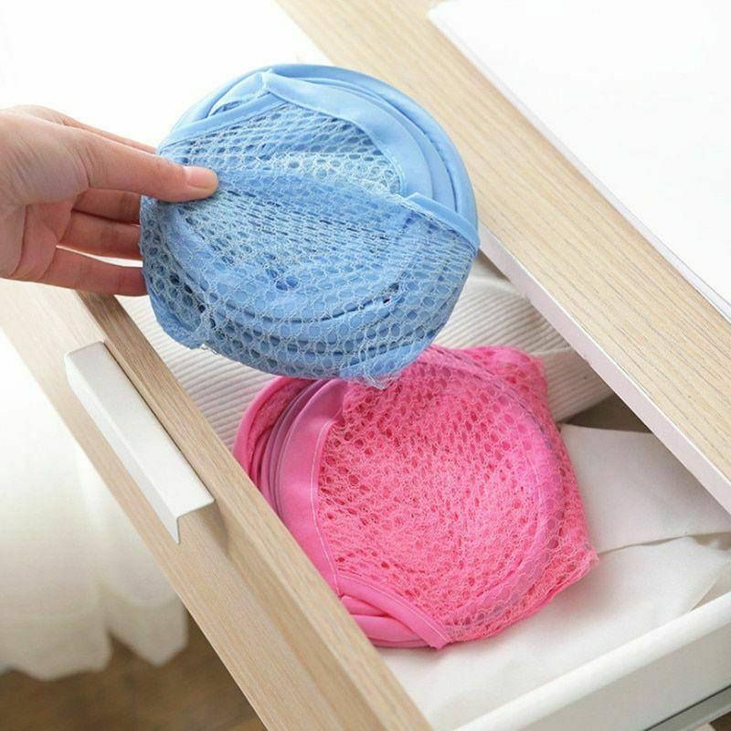 Pop Up Basket Mesh Hamper Dirty Bin