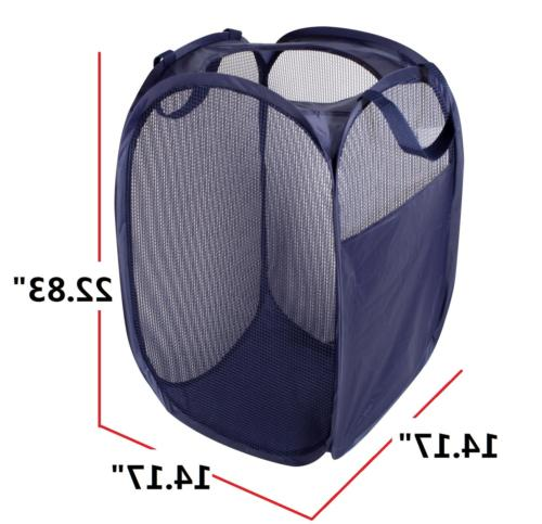 STORAGE Clothes Foldable Laundry Hamper, Side 2-