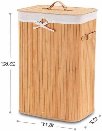 Portable Hamper with Handle Clothes