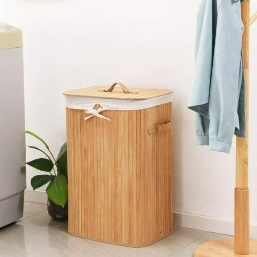 Portable Laundry with Bag and Handle Storage Clothes