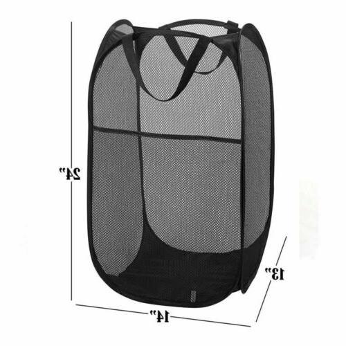 Portable Folding Laundry Hamper Bag Clothes Organizer