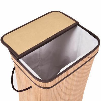 Rect Basket Cloth Bin Lid