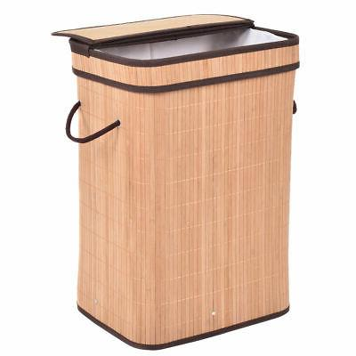 Rect Laundry Basket Storage Bin Bag