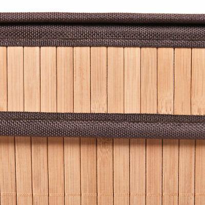 Rect Bamboo Basket Bin