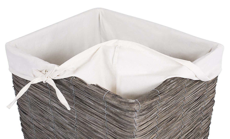 BirdRock Wood Laundry Hamper with New Box!