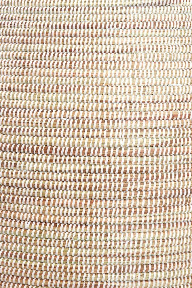 Senegalese Tall Bongo Hamper Baskets Handmade Laundry Solution