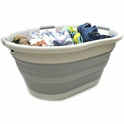 Set PopUp Of 2-57L Collapsible 3 Handled (2
