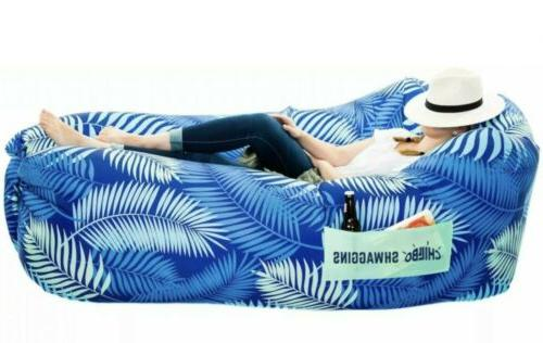 shwaggins inflatable couch cool inflatable chair upgrade