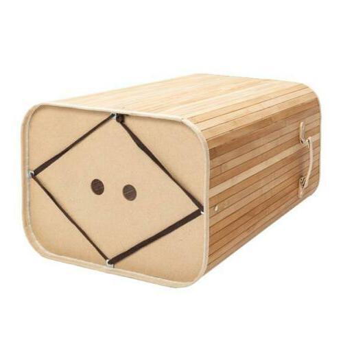 Square Storage Bamboo Environmental Wood