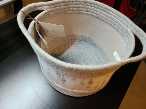 RGI HOME Storage Basket Bin For Kids Toy Organizer