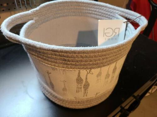 storage hamper basket bucket bin for kids