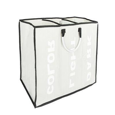 Portable Large Laundry Basket Hamper Box Dirty Clothes Stora