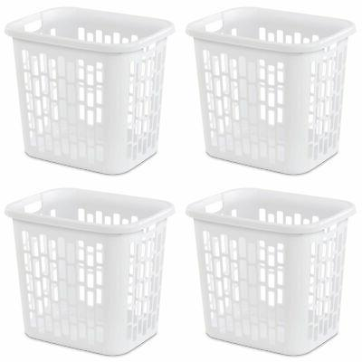 ultra easy carry plastic dirty clothes laundry