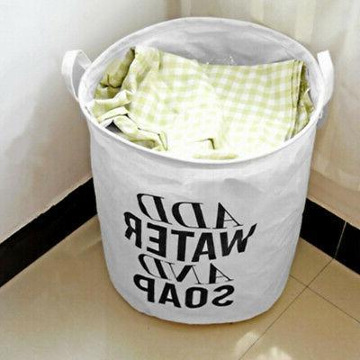 Foldable Laundry Basket Bag Dirty Washing Clothes & Toy