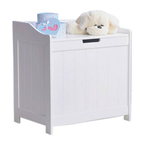 White Laundry Hamper Clothes Storage Clothes Bedroom