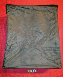 IKea LARGE 22X10X25 Black Laundry Bag / Hamper Skubb New !
