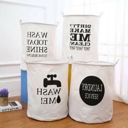 Large Folding Laundry Hamper Bucket Waterproof Coating Toys