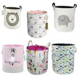 Large Storage Bins Laundry Hamper Basket Bucket Bin Kid Toy