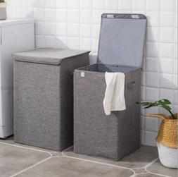 Large toys Bin Basket Box Washing Lid Laundry Folding Clothe