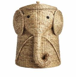 Laundry Animal Hamper Clothes Basket Storage Wicker Organize