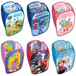 Laundry Bag Toy Storage Pop Up Hamper Kids Children Boys Gir
