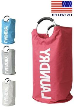 Laundry Basket Large, Collapsible Foldable WaterproofLaundar
