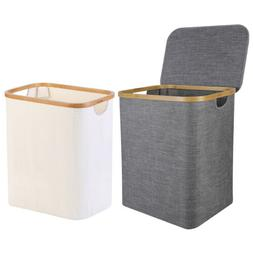 Laundry Basket Linen Hamper Laundry Home Storage Bin Bathroo