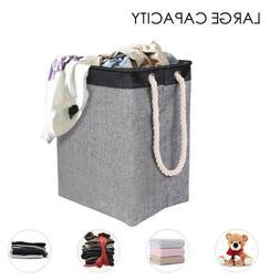 Laundry Hamper Basket Clothes Storage Bag Sorter Bin Organiz