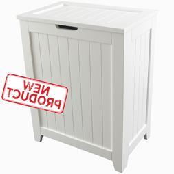 Laundry Hamper Clothes Basket Bathroom Home Organizer w/ Lid
