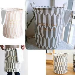 Laundry Hamper Clothes Basket Cotton Waterproof Washing Bag