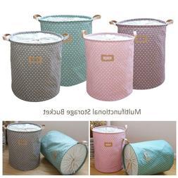 Laundry Hamper Clothes Basket Holder Washing Bag Foldable St