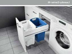 Laundry Hamper - Hailo Laundry basket -Carrier 450 - with fu