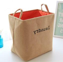 Laundry Hamper, Laundry Basket, Toy Storage, Nursery Fabric