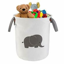 NASHRIO Laundry Storage Basket Hamper, Functional Cotton