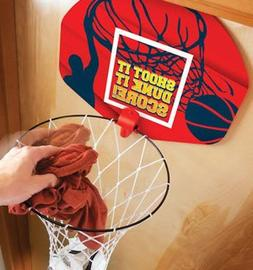Ideas in Life Basketball Laundry Hamper Clothes Basket and H