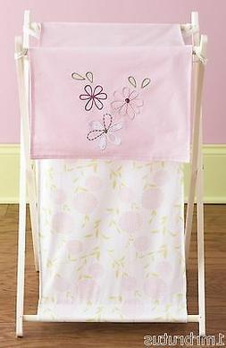 Laura Ashley Love Laundry Hamper Baby Girl's Nursery Storage