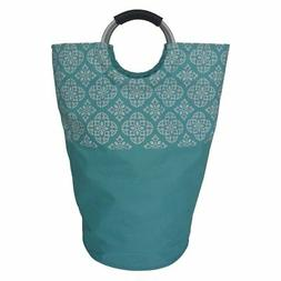 Redmon Medallion Laundry Tote, Teal