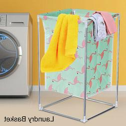 Metal Laundry Basket Washing Dirty Clothes Hamper Sorter Toy