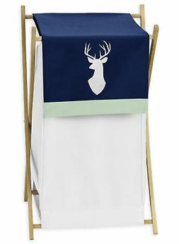 Sweet Jojo Mint Navy Blue White Deer Kid Baby Clothes Laundr