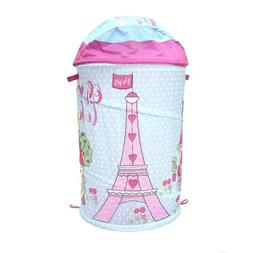 NEW PARIS EIFFEL TOWER CHIC GIRLS HAMPER IDEAL FOR LAUNDRY O