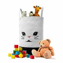 Panda Laundry Hamper for Nursery or Kids Room - Children and