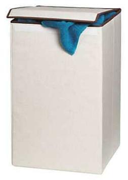"15"" Pop Up Laundry Hamper, White ,Honey-Can-Do, HMP-01135"