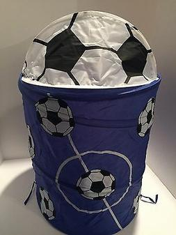 POP UP FOLDABLE CLOTHES LAUNDRY HAMPER BASKET STORAGE BIN KI