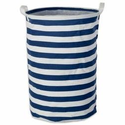 Round Laundry Hamper Basket Perfect In Your Bedroom Nautical