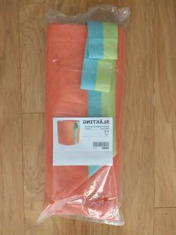 Ikea Slakting Toy Storage Laundry Hamper Collapsible Orange
