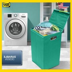 Sorbus Laundry Hamper Sorter with Lid Closure