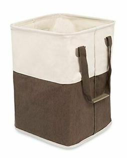 BirdRock Home Square Cloth Laundry Hamper with Handles | Dir