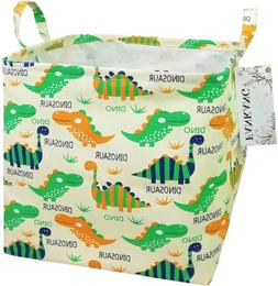 FANKANG Storage Bins Nursery Hamper Canvas Laundry Basket Fo