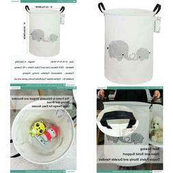 Fankang Storage Bins, Nursery Hamper Canvas Laundry Basket F